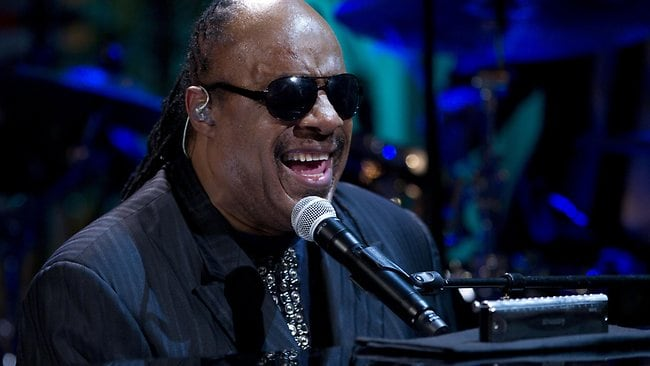 Stevie Wonder is among the music acts donating their time for the Global Citizen Festival in New York's Central Park.