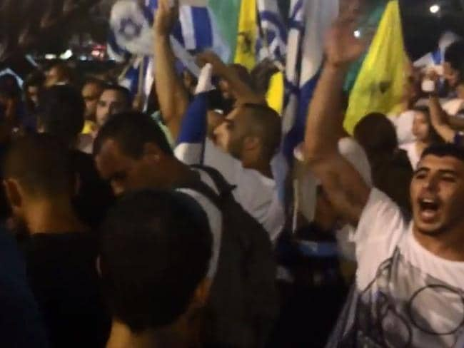 Chanting ... This video of far-right Israelis singing about the death of children in Gaza has sparked anger.
