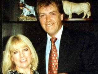 Terence Hodson and his wife Christine.