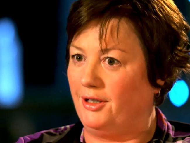 Recalling the terror ... Louisa Hope was caught up in the Sydney siege. Picture: Channel 9/60 Minutes