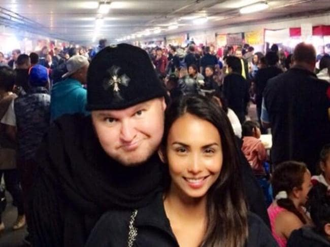 """We had tried to make it work ..."" Kim Dotcom and his wife Mona Dotcom. Picture: Twitter"