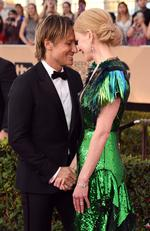 Keith Urban and Nicole Kidman attend the 23rd Annual Screen Actors Guild Awards at The Shrine Expo Hall on January 29, 2017 in Los Angeles, California. Picture: Getty