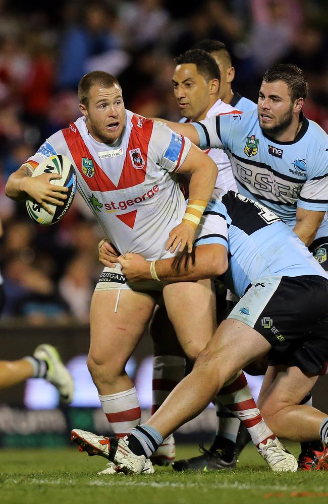 Trent Merrin has been a shining light for the Dragons. Picture: Mark Evans