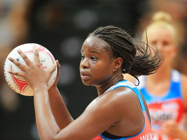 Sam Wallace is one of the best shooters in world netball.