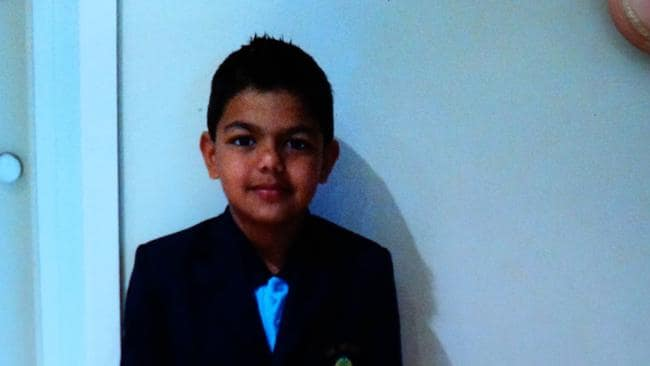 Haadi Akhtar a seven-year-old boy who was killed at Mt Buller. Picture: Tim Carrafa