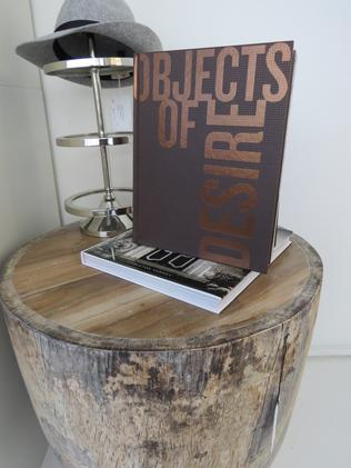 Books on display at Henry Corbert & Co, Organic Design