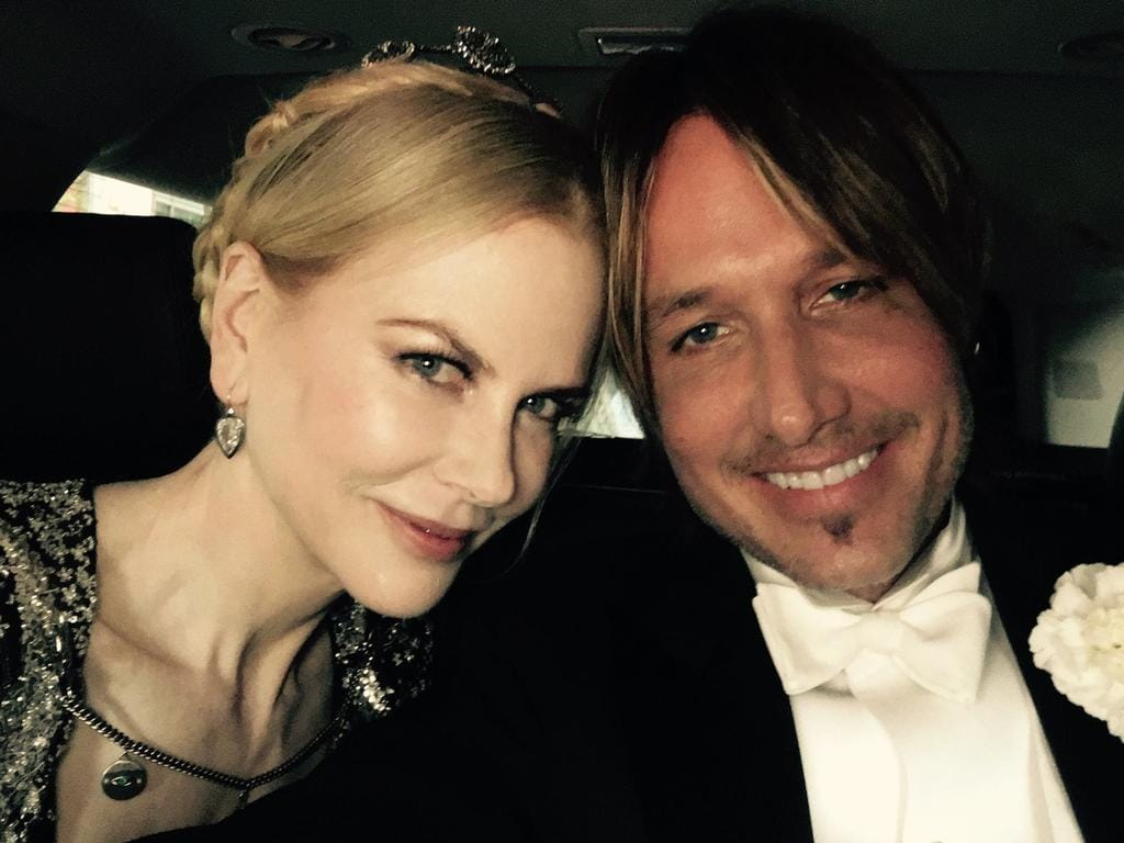 Check out all the excitement on social media as stars celebrate the 2016 Met Gala ... Nicole Kidman and Keith Urban. Picture: Facebook