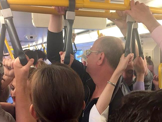 Commuters furious over train chaos