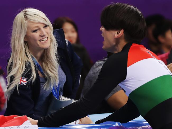 Elise Christie found some joy in PyeongChang after all.