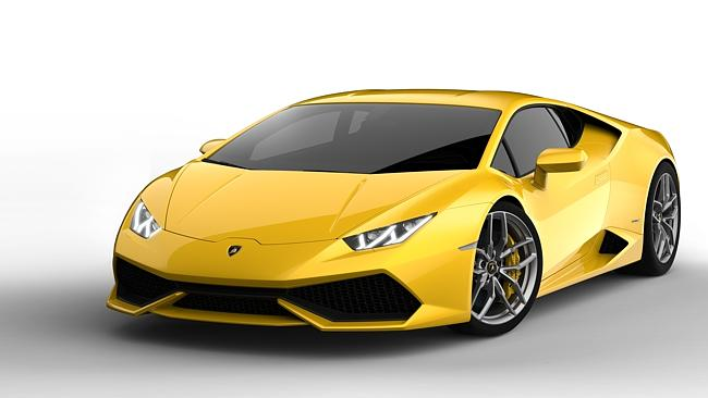 Supercar ... the only electric motors in this V10 Lamborghini Huracan are the electric seat adjusters