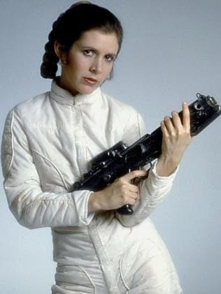 Princess Leia was as good with a blaster as she was quick with a cutting put-down.