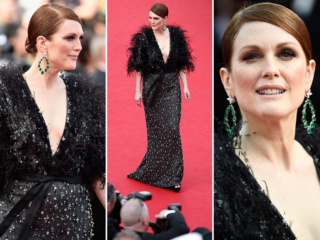 Julianne Moore attends the opening ceremony and premiere of 'La Tete Haute' ('Standing Tall') during the 2015 Cannes Film Festival. Picture: Getty
