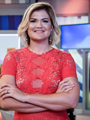 Studio 10 co-host Sarah Harris is also nominated. Picture: AAP Image/Brendan Esposito