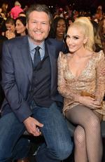 Blake Shelton and Gwen Stefani attend the 2017 Billboard Music Awards at T-Mobile Arena on May 21, 2017 in Las Vegas, Nevada. Picture: Getty