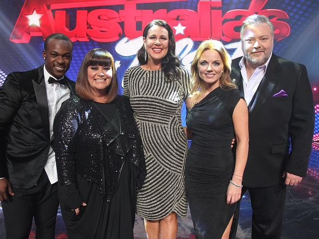 Timomatic, Dawn French, Julia Morris, Geri Halliwell and Kyle Sandilands.