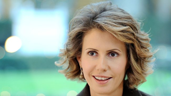 Syrian First Lady Asma al-Assad is reportedly due to give birth in March, according to Beirut newspaper al-Akhbar.