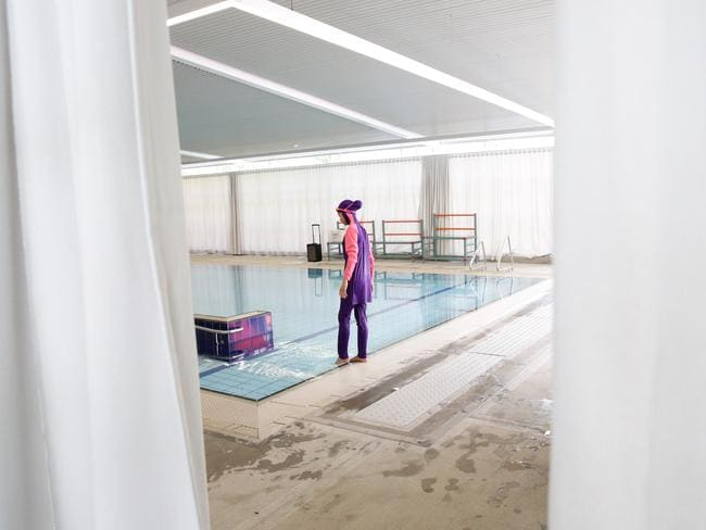 Pool Privacy Curtains mark latham launches petition to ban privacy curtain for muslim