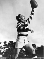 Bernie Smith was named in the back pocket in the AFL Team of the Century.