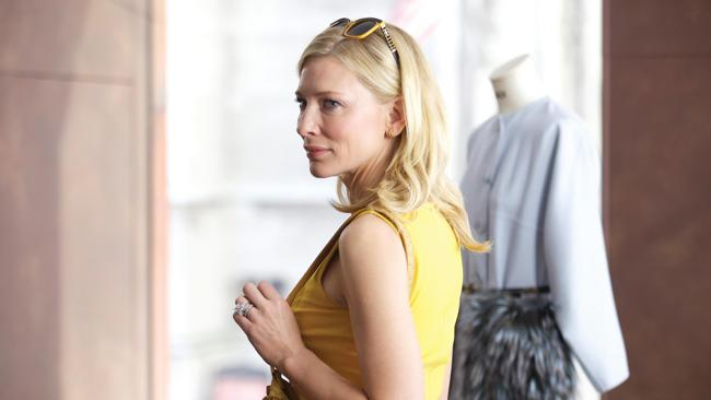 Cate Blanchett in a scene from Blue Jasmine. Picture: Supplied