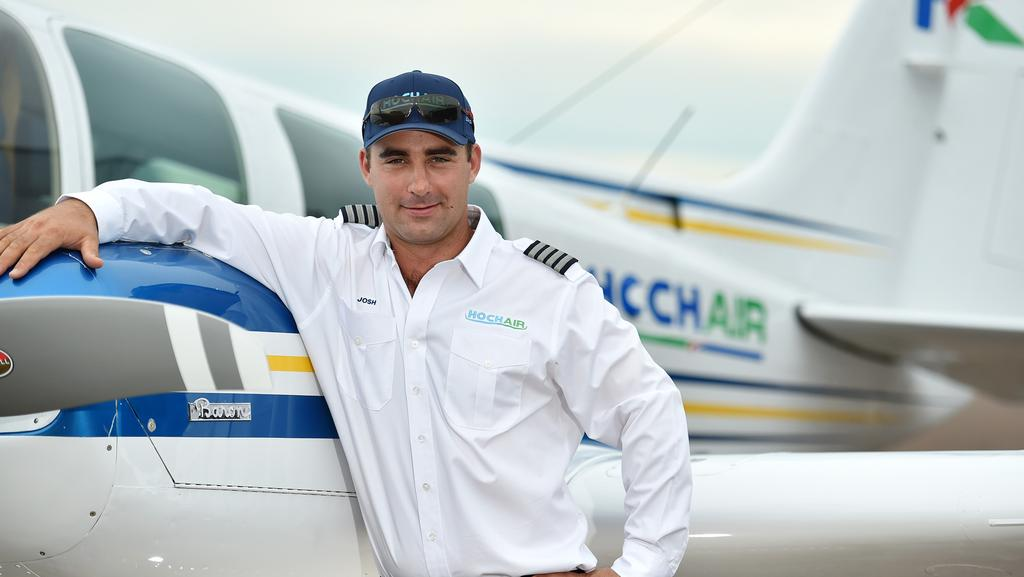 Cheif Pilot of Hoch Air Josh Hoch.