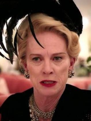 Judy Davis as Hedda Hopper in Feud. Picture: Fx
