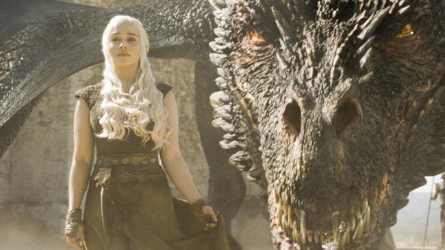 The show they all want: HBO's Game of Thrones — the world's most downloaded show — is the jewel in the streaming crown. Picture: Supplied