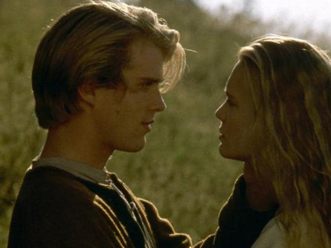 Ingenue ... Robin Wright and Cary Elwes in scene from  <i>The Princess Bride</i>.