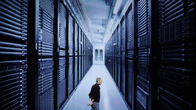 Apple's data centre where your iCloud data is stored.