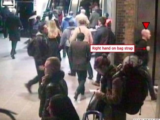Prosecutors unsuccessfully argued Mark Pearson sexually assaulted an unnamed actress at Waterloo Station a year ago. Picture: BBC