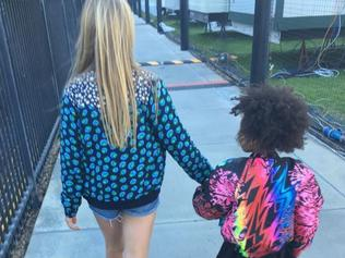 Apple Martin and Blue Ivy are BFFs