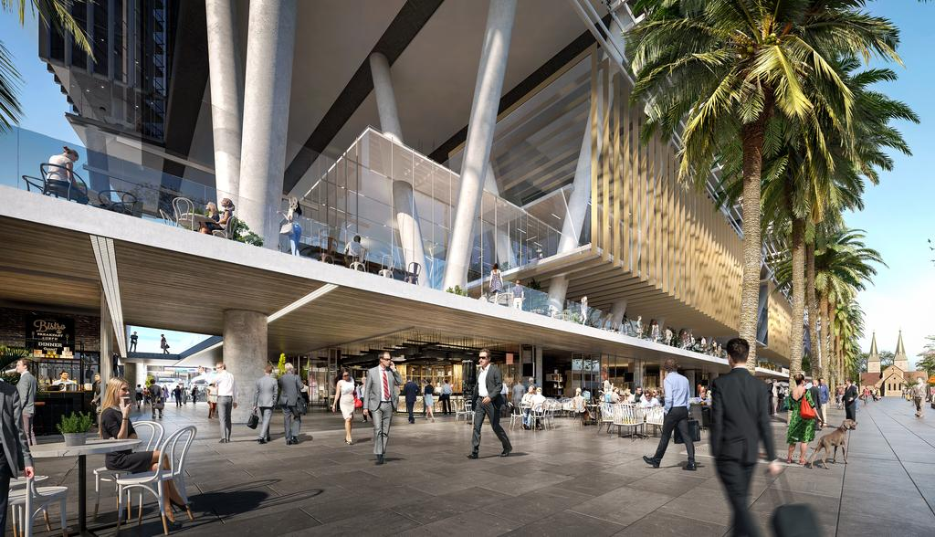 Fast forward a few years and this is what Parramatta Square will look like.