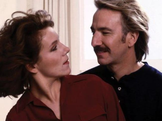 Surprise ... Alan Rickman's character dies but then comes back to Juliet Stevenson in Truly, Madly, Deeply. Picture: Supplied