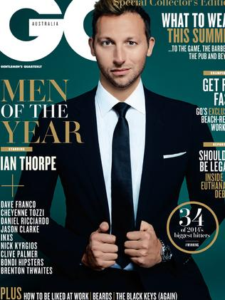 Swimmer Ian Thorpe took home the gong for Man of Influence.
