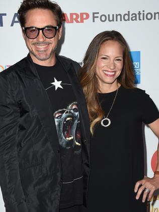 Robert Downey Jr and Susan Downey.