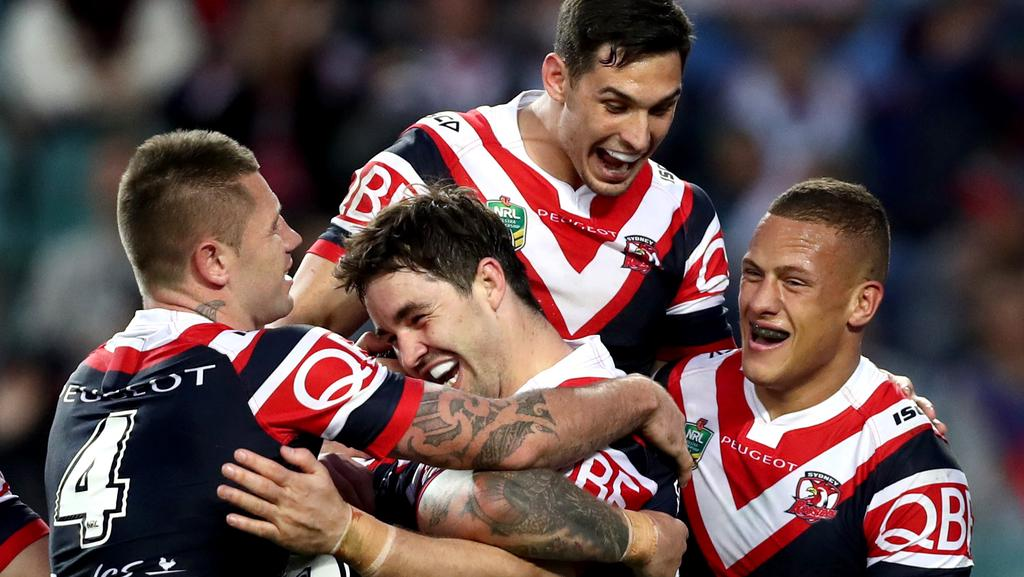 Roosters have emerged as the best-backed team to win the 2017 NRL premiership. Picture: Gregg Porteous
