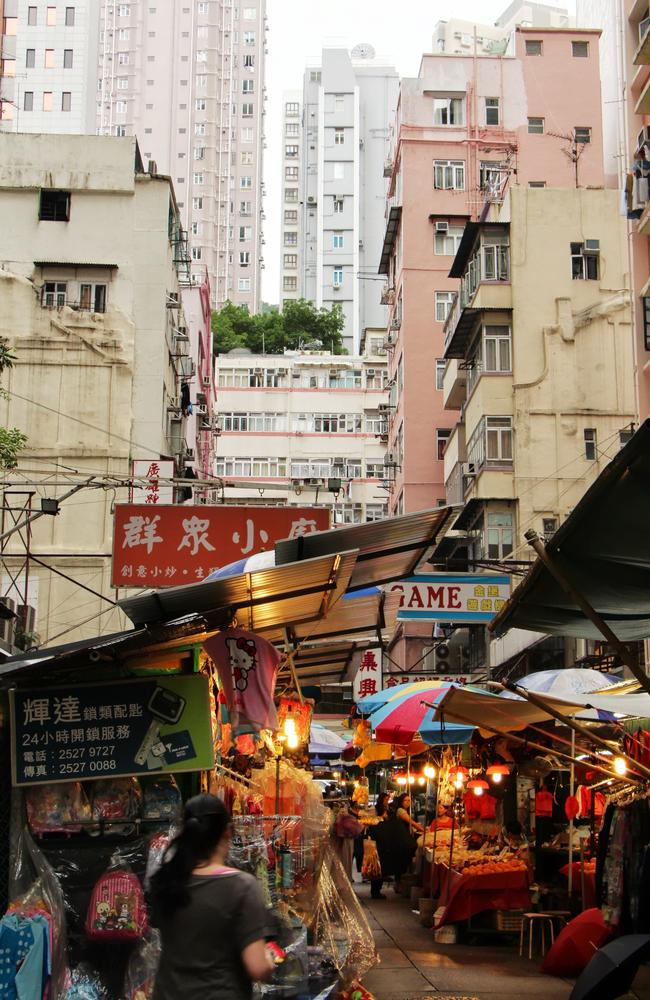 The Wan Chai neighbourhood by day. Pic: Supplied