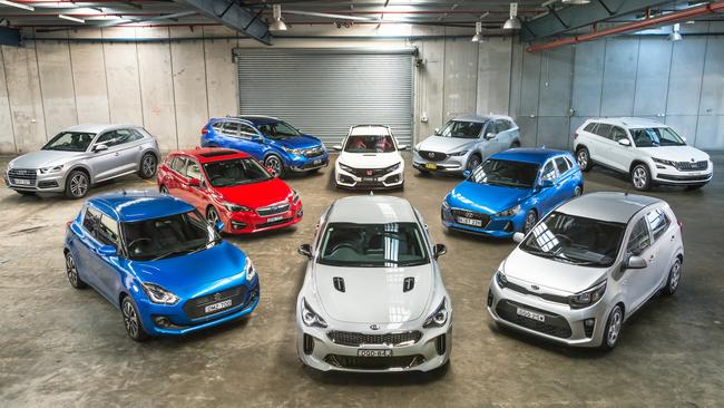 The contenders for this year's car of the year award. Pic: Thomas Wielecki.