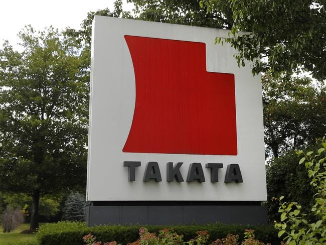 Dozens of Takata airbags have exploded worldwide. Picture: Paul Sancya/AP