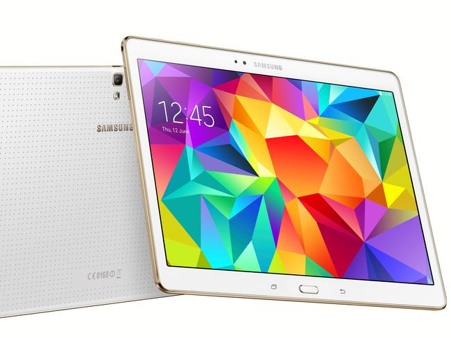 The Samsung Galaxy Tab S 10.5 is 6.6mm thin and weighs just 467g.