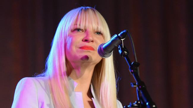 The notoriously shy Sia scored two nominations.