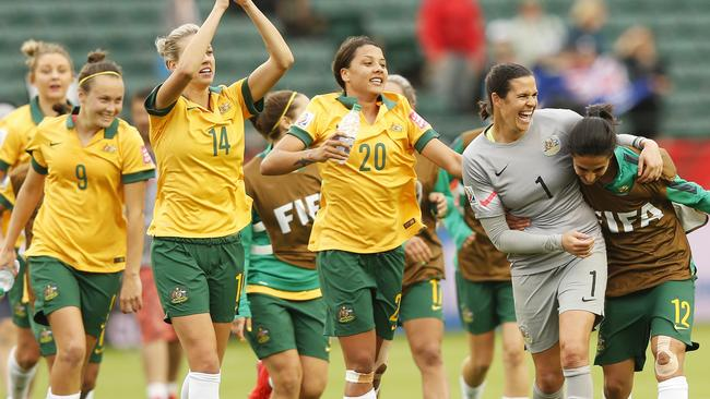 Williams is a mainstay for the Matildas. (Todd Korol/Getty Images)