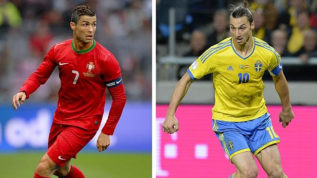 Who will come out on top between Ronaldo and Ibra?