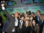 Will Smith takes a selfie with the cast and crew of Suicide Squad at the film's world premiere on August 1, 2016, in New York City. Picture: AP
