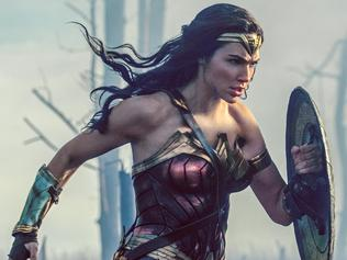 Gal Gadot in a scene from Wonder Woman. Warner Bros Pictures.