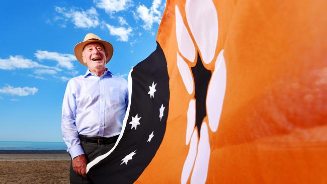 Is this the most successful and distinctive Australia sub-national flag? Designer and illustrator Robert Ingpen AM designed the Northern Territory flag which was officially raised on 1 July 1978.