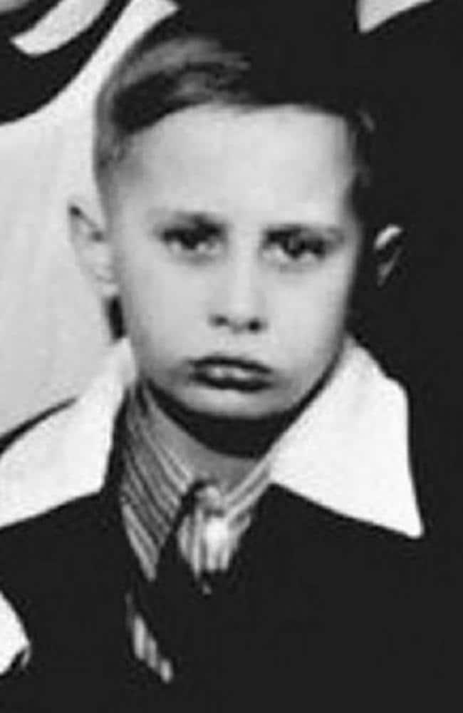 Ο Βλαντιμίρ Πούτιν απεικόνισε τα νεότερα χρόνια του.  Εικόνα: Zumapress.com/Australscope