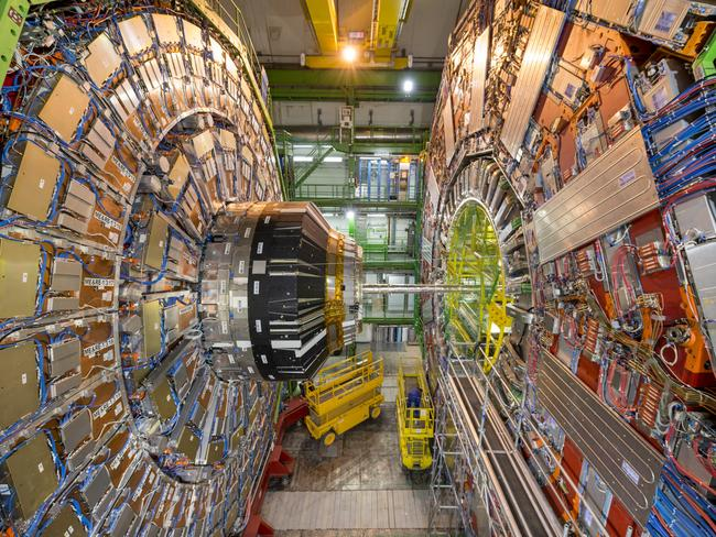 CERN is home to the Large Hadron Collider machine designed to recreate the conditions immediately following the big bang.