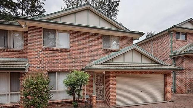 A townhouse at 149 Derby St, Penrith sold for $400,000. Picture: realestate.com.au