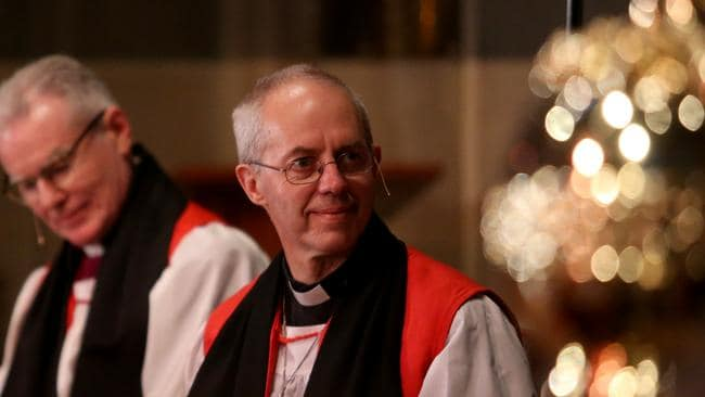Archbishop of Canterbury Justin Welby presides over the Anglican Church.