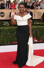 Uzo Aduba attends The 23rd Annual Screen Actors Guild Awards at The Shrine Auditorium on January 29, 2017 in Los Angeles, California. Picture: Getty